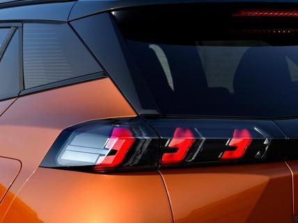 Nuevo SUV PEUGEOT 2008: faros traseros LED