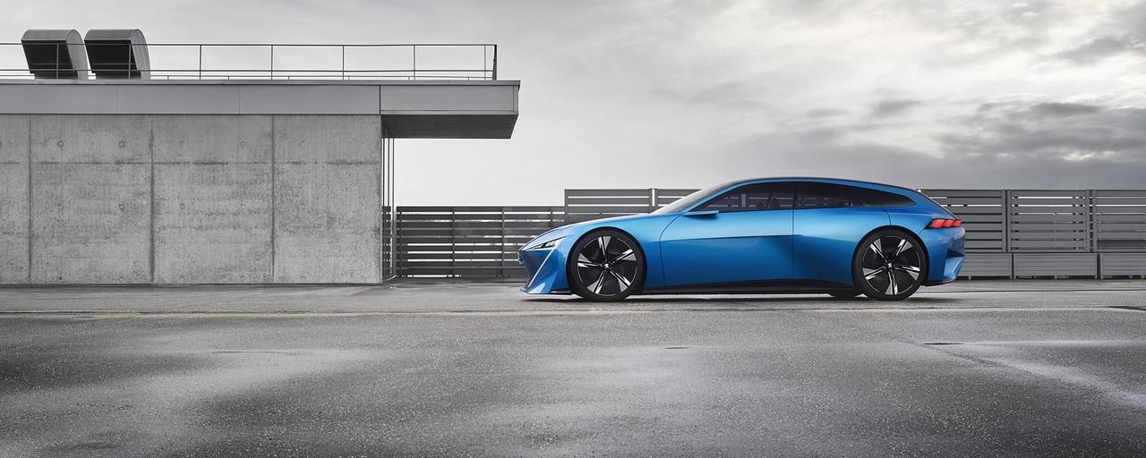 Peugeot Instinct Concept - El shooting brake de Peugeot