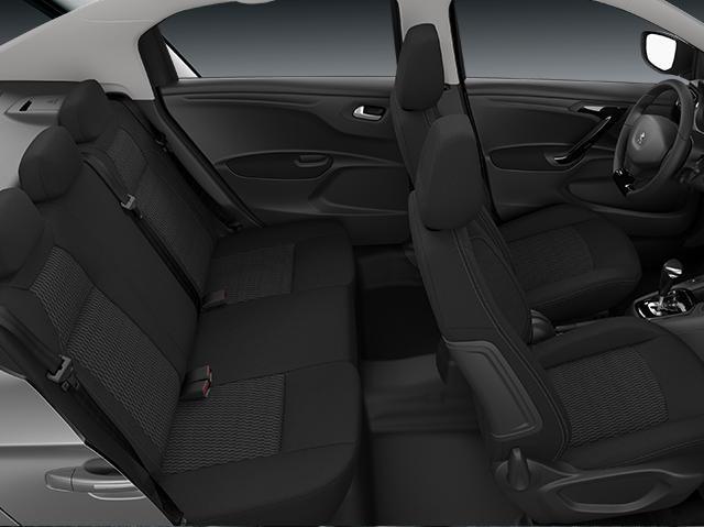 301 interior asientos